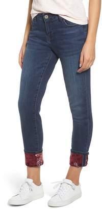 Jag Jeans Jag Carter Embellished Girlfriend Jeans