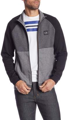 Calvin Klein Mock Neck Full Zip Jacket