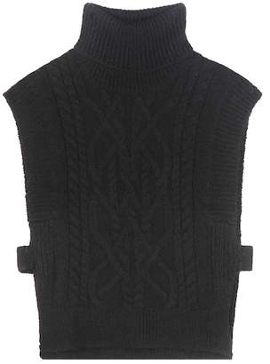 Isabel Marant Grant alpaca and merino wool-blend sweater