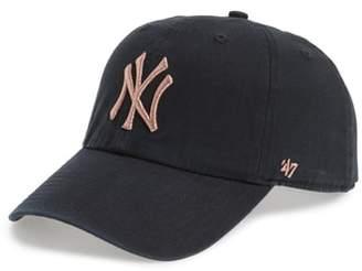 '47 NY Yankees Metallic Embroidery Baseball Cap