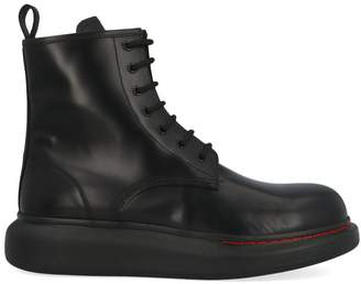 Alexander McQueen Laced Colored Sole