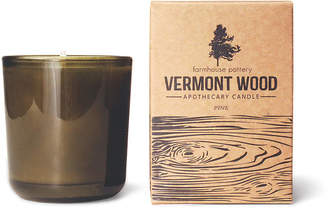 Vermont Wood Candle - Pine - Farmhouse Pottery