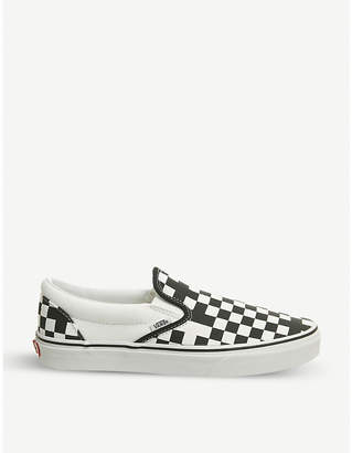 Vans Classic checkerboard canvas skate shoes