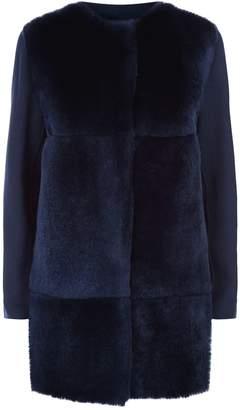 Max Mara Rabit Fur Coat