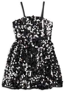 Milly Minis Girl's Avery Sequin Party Dress