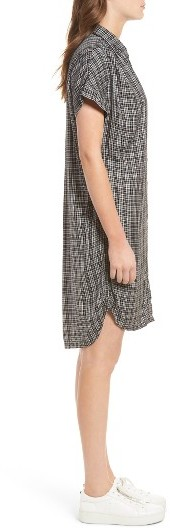 Women's Madewell Central Plaid Shirtdress 3