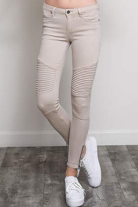 BRIGITTE Wishlist The Moto-Jegging