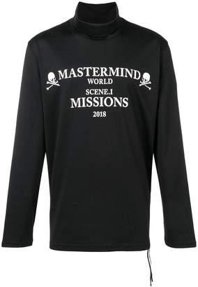 Mastermind Japan (マスターマインド) - Mastermind Japan ハイネック スウェットシャツ