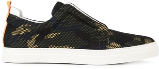 Pierre Hardy camouflage slider sneakers