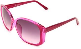Jessica Simpson Women's J565 Square Sunglasses