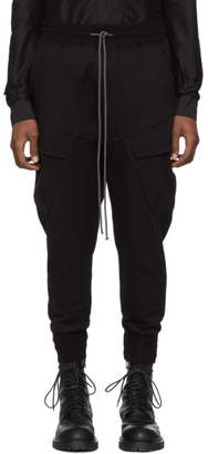 The Viridi-anne Black Cargo Lounge Pants