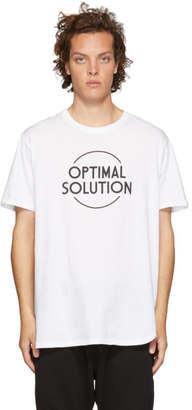 Nonnative White Optimal Solution T-Shirt