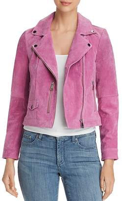 Vero Moda Best Royce Cropped Suede Motorcycle Jacket