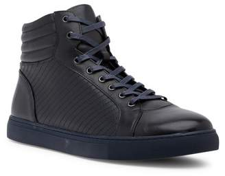 Zanzara Youse Leather High-Top Sneaker