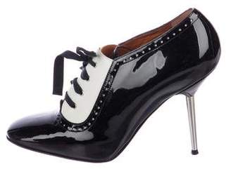 Lanvin Patent Leather Ankle Boots w/ Tags