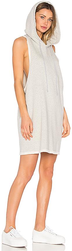 Hudson Jeans Hoodie Sweatshirt Dress 3