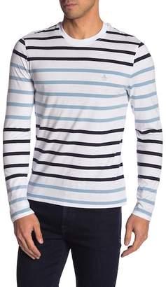 Original Penguin Engineered Feeder Long Sleeve Colorblock Shirt