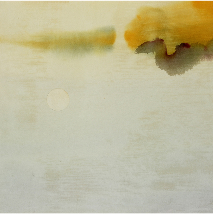 """""""Pale Sky with Moon"""" by Hugh Wiley"""