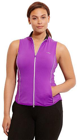 Ralph Lauren Woman Jersey Full-Zip Vest