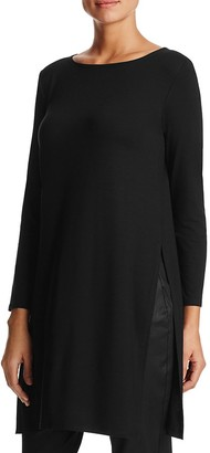 Eileen Fisher Petites Boat Neck Tunic $178 thestylecure.com
