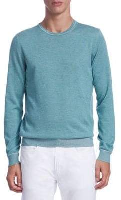 Saks Fifth Avenue COLLECTION Timothy Crewneck Sweater