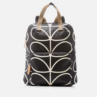 Orla Kiely Women's Stem Tote Backpack - Black