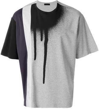 Diesel Black Gold Teoria-stripespray T-shirt