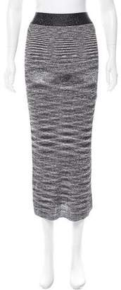 Ellery Rib Knit Midi Skirt w/ Tags