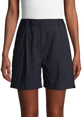 3.1 Phillip Lim Pinstripe Stretch Wool Shorts