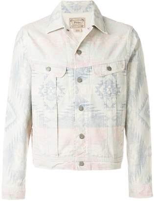 Polo Ralph Lauren printed denim jacket