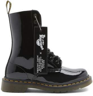 Marc Jacobs Dr Martens X Patent-leather Boots