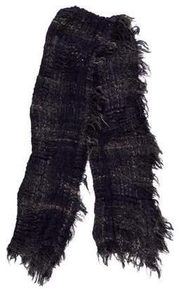 Faliero Sarti Mohair-Blend Knit Scarf