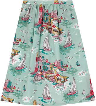 Cath Kidston Tresco Cotton Cambric Skirt
