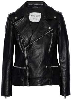 Walter W118 By Baker Liza Leather Biker Jacket