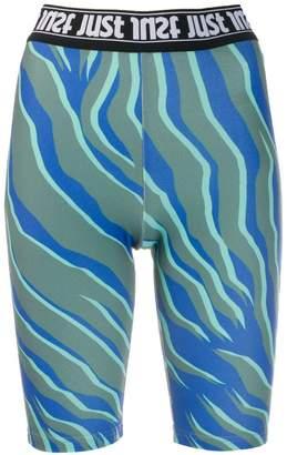 Just Cavalli logo band cycling shorts