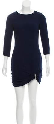 Azzaro Mini Wool Dress