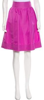 Rochas Silk Knee-Length Shirt