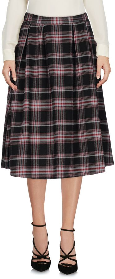 Only Knee length skirts - Item 35307981