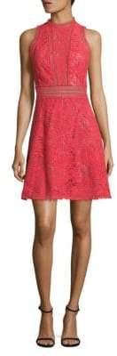 Rebecca Taylor Arella Cutout Lace Dress