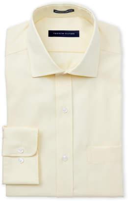Tommy Hilfiger Light Maize Regular Fit Dress Shirt