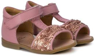 Pépé Kids sequin embellished sandals