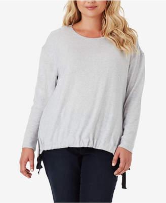 Jessica Simpson Trendy Plus Size Wendi Blouson Top