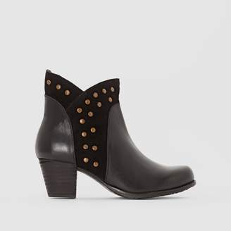 d80389a8cecd Hush Puppies Leather Upper Boots For Women - ShopStyle UK