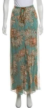 Diane von Furstenberg Printed Maxi Skirt
