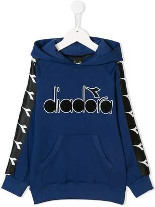 Diadora (ディアドラ) - Diadora Junior logo print hoodie