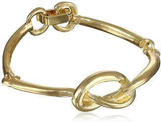 Yochi Knot 14k Plated Bracelet