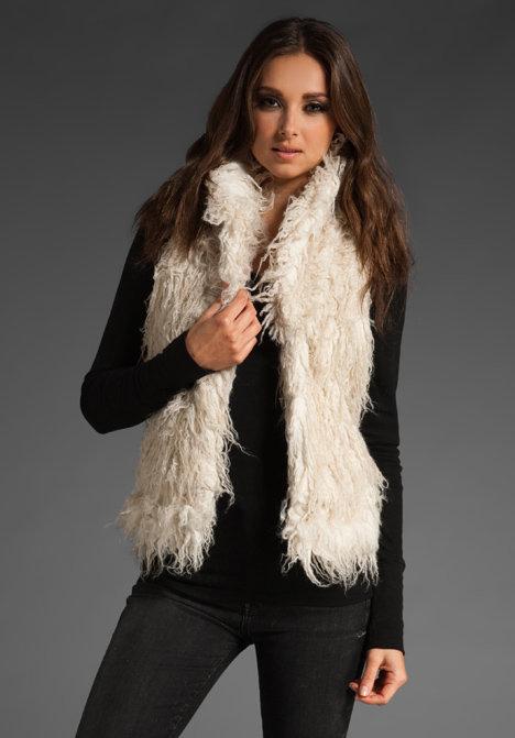Juicy Couture Reversible Faux Fur Vest