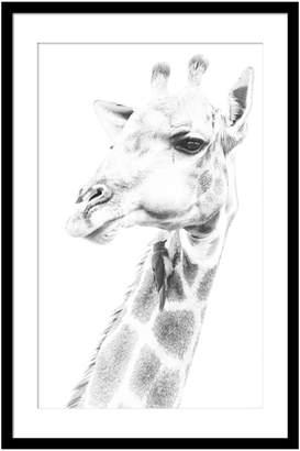 Casa Uno Giraffe Framed Print, 60x90cm