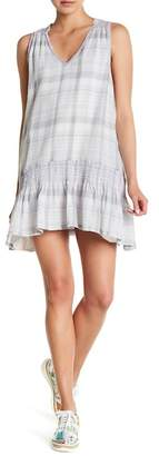 Free People Run With Me Plaid Mini Dress
