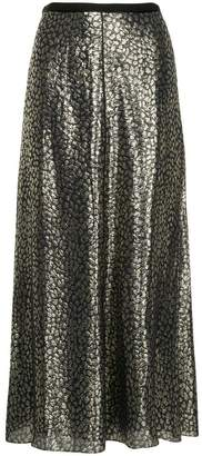 Layeur Barbara metallic skirt